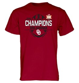 Blue 84 2018 Big 12 Champions Locker Room Tee (Men's sizes)
