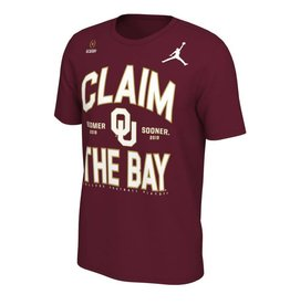 Jordan Jordan Brand Claim the Bay OU Playoff Tee