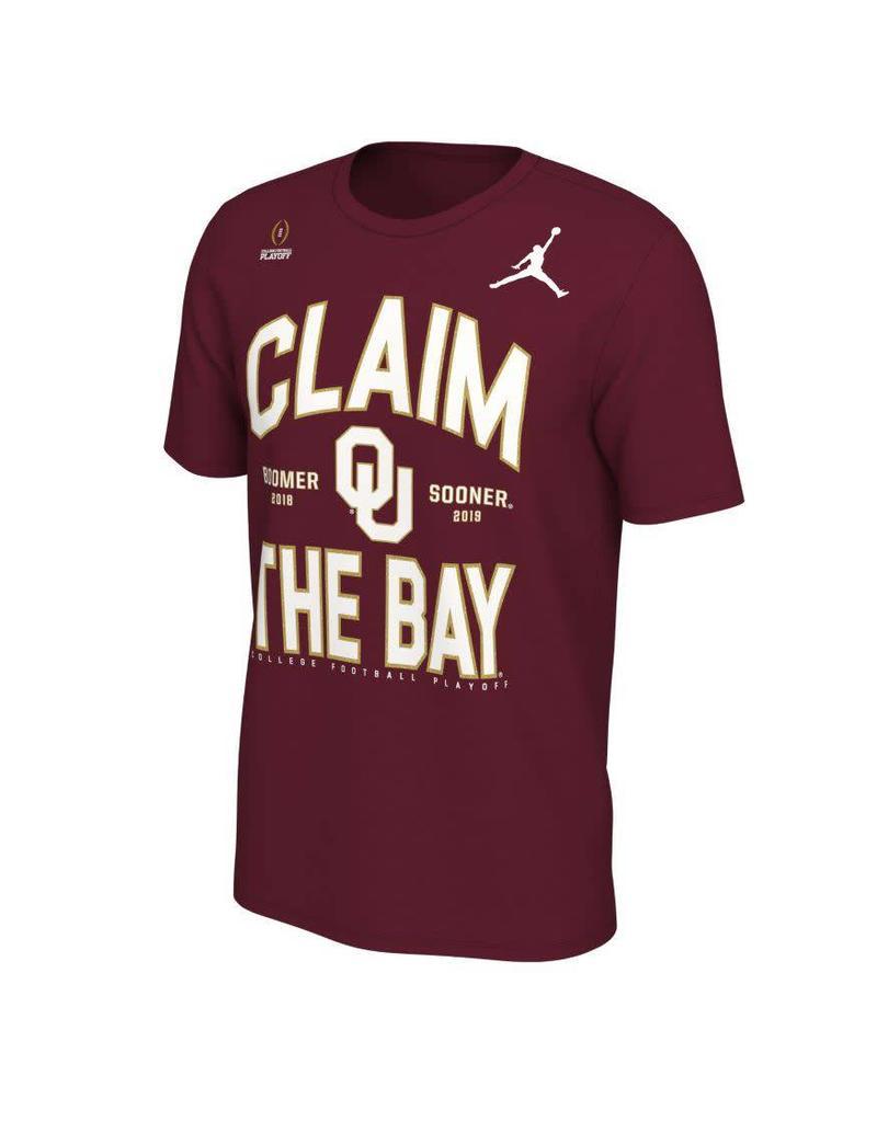 Jordan Jordan Brand Claim the Bay OU Playoff Tee