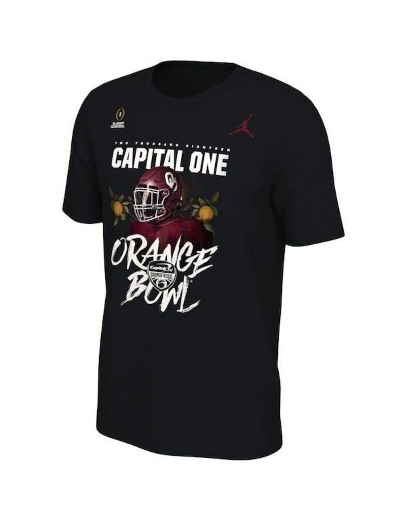 Jordan Jordan Brand OU Orange Bowl Bound Playoff Tee