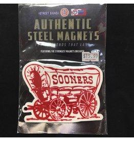 Street Signs Schooner Steel Magnet