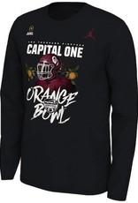 Jordan Jordan Brand OU Orange Bowl Bound Long-sleeve Tee