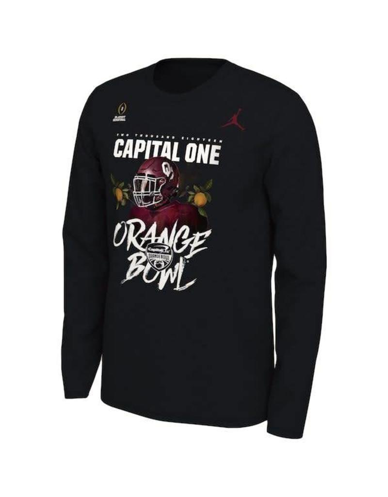 Jordan Jordan Brand OU Orange Bowl Bound Long-sleeve Tee