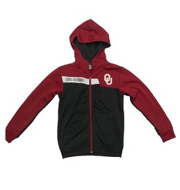 Colosseum Colosseum Youth 3-Tone Full-Zip Hoody