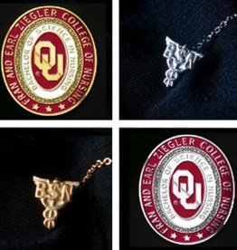 Stylecraft University Of Oklahoma Nursing Pin