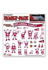 Stockdale Oklahoma Family Pack Removable Decals