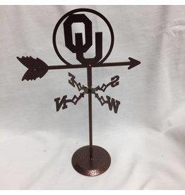 Swen Swen Oklahoma Sooner Mini Desktop Weather Vane