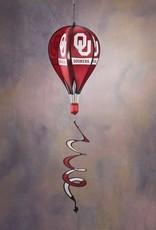 BSI OU Sooners Hot Air Ballon Spinner