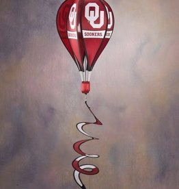 BSI OU Sooners Hot Air Ballon Spinner