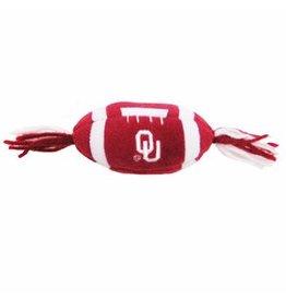 Pets First Oklahoma Catnip Football Toy