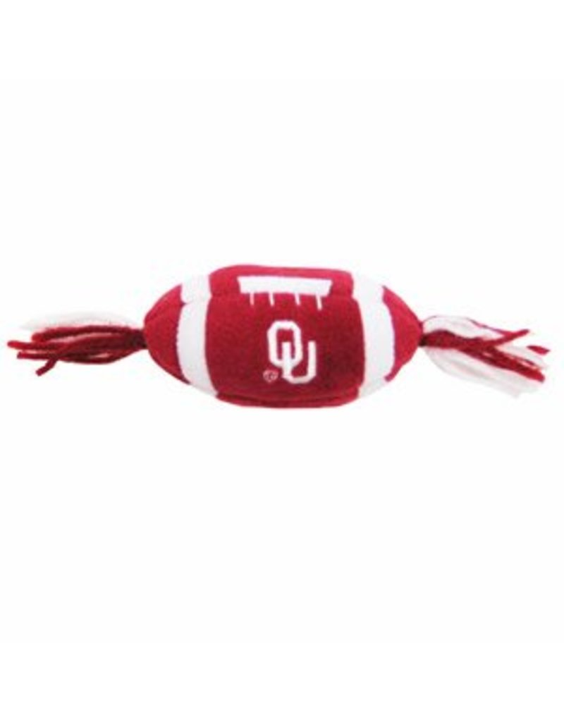 Pets First Oklahoma Catnip Football Toy
