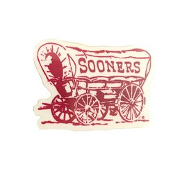 "SDS Design 2"" Sooner Schooner Vinyl Decal"