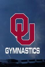 """Color Shock OU Gymnastics Auto Decal 3.5""""x3.5"""""""