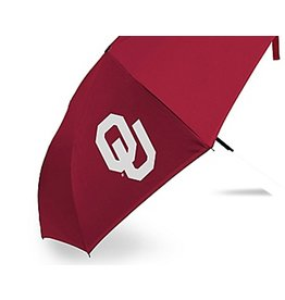 "Storm Duds OU Crimson Storm Duds 42"" Super Pocket Mini Umbrella"