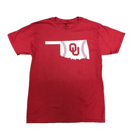 TOW TOW OU State Baseball Laces T-Shirt