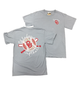 Comfort Colors OU Sooners Softball Tee
