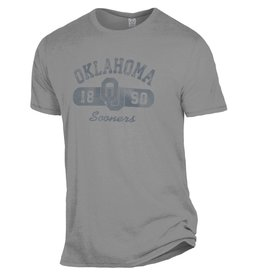 Alternative Apparel Men's Alternative Apparel Smoke Gray Oklahoma Keeper Tee
