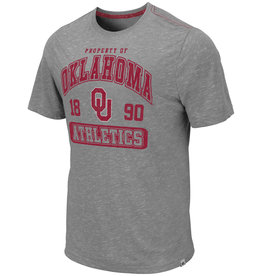 Colosseum Men's Colosseum Gray Oklahoma Sooners Campinas Tee