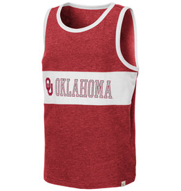 Colosseum Youth Colossuem Crimson OU Quebec Tank