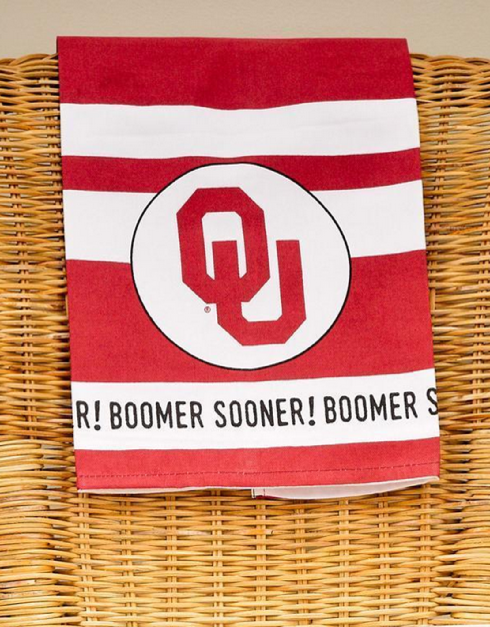 Glory Haus Oklahoma Printed Tea Towel