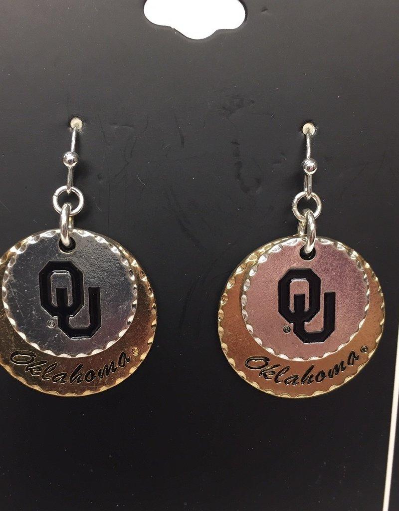 FTH FTH OU Haute Stamp Earrings