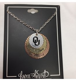 FTH FTH OU Haute Stamp Necklace