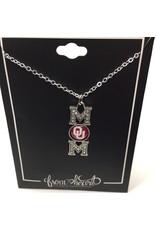 FTH FTH OU Crystal MOM Necklace