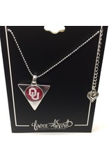 FTH FTH OU Hallow Triangle Necklace