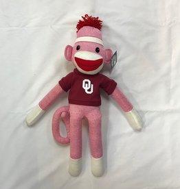 """Jardine OU 20"""" Pink Sockiez Monkey"""