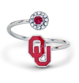 Stone Armory OU Adjustable Ring with Crystals