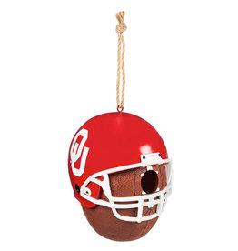 Team Sports America OU Helmet Birdhouse