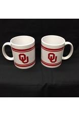 RFSJ OU Bar Design White 12oz Ceramic Mug