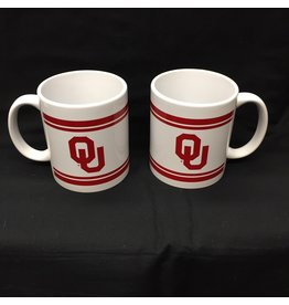 RFSJ OU Bar Design White 12oz Ceramic Mug