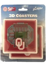 You The Fan Oklahoma Sooners 3D StadiumViews Coaster
