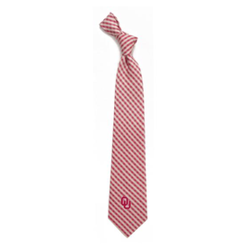Eagles Wings Eagles Wings Oklahoma Gingham Necktie