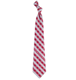 Eagles Wings Eagles Wings Oklahoma Check Necktie