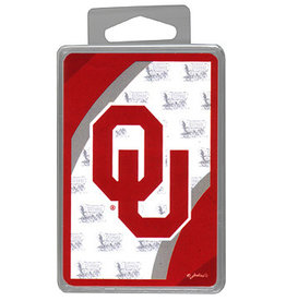 Game Day Outfitters OU Schooner Playing Cards