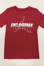 Jordan Jordan Brand Children's Oklahoma Football Tee Crimson