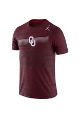 Jordan Men's Jordan Brand Oklahoma Dri-Fit Legend Velocity Tee