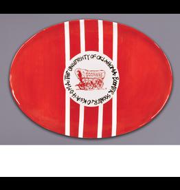 Magnolia Lane Magnolia Lane OU Ceramic Mascot Platter