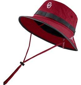 Jordan Jordan Brand Oklahoma Dry Bucket Hat-Crimson