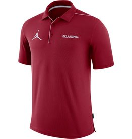 Jordan Men's Jordan Oklahoma Team Issue Crimson Polo