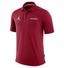 Nike Men's Nike Oklahoma Team Issue Crimson Polo