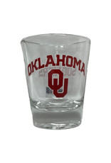 RFSJ Oklahoma OU Sooners 1.5 oz Shot Glass