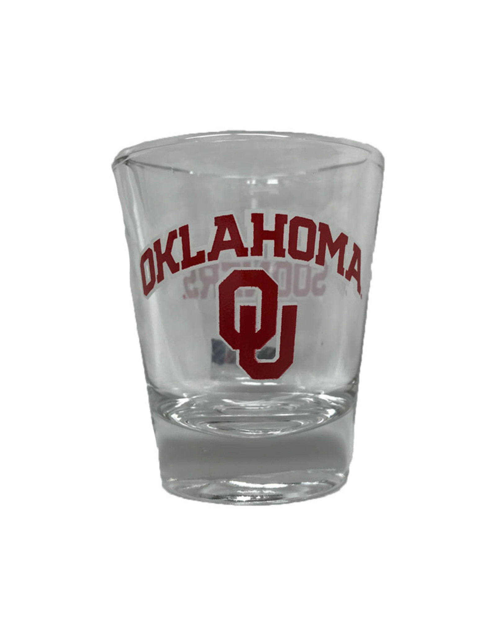 RFSJ Oklahoma OU Sooners 1.5 oz Shot Glass