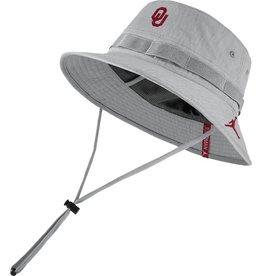 Jordan Jordan Brand Oklahoma Dry Bucket Hat-Flat Silver