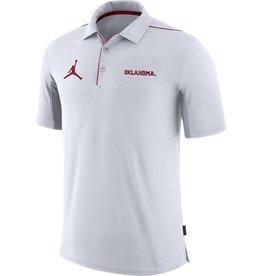 Jordan Men's Jordan Oklahoma Team Issue White Polo
