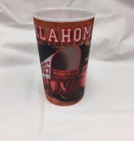 Dynamic Drinkware Oklahoma Schooner 3-D Tumbler 22oz