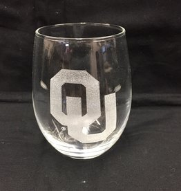 The Memory Company OU Etched Stemless Glass Tumbler 15oz