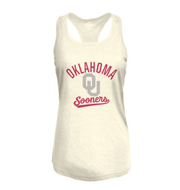 Top of the World Women's Heritage Triblend Oatmeal Racerback Tank